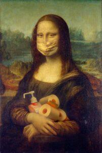Mona Lisa i covid